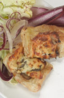 PASTRY ROLLS WITH RADICCHIO AND CHEESE